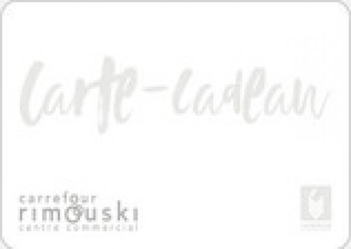 Carte Carrefour Rimouski.Carrefour Rimouski 20 Cartes Cadeaux